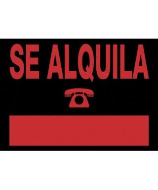 "Cartel ""SE ALQUILA""- ARCHIVO 200 - 6161 NE"