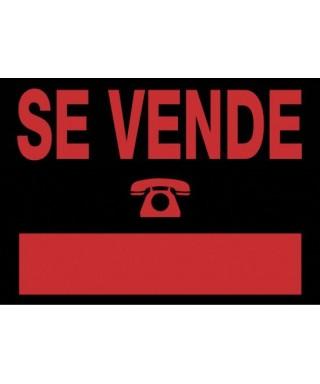 """Cartel """"SE VENDE""""- ARCHIVO 200 - 6160 NE"""