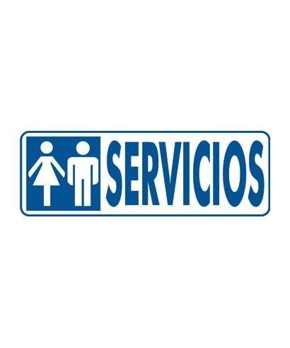 """Cartel """"SERVICIOS""""- ARCHIVO 2000 - 6177-00 GS"""