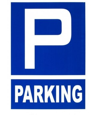 "Cartel ""PARKING""- ARCHIVO 2000 - 6173-10 AZ"