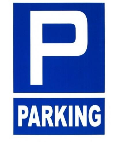 "Cartel ""PARKING""- ARCHIVO 2000 - 6173-10 AZ"