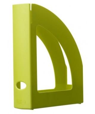 Revistero plástico verde kiwi translúcido- ARCHIVO 2000 - 2003 KW