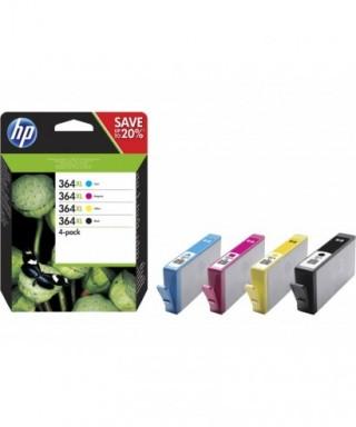 Cartucho tinta tricolor 364xl- HP - N9J74AE