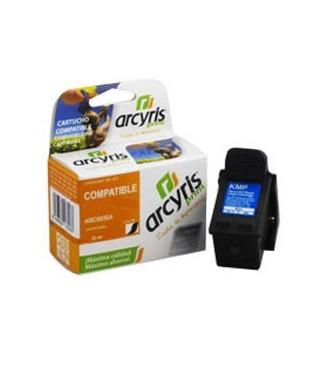 cartucho de tinta compatible Arcyris HP F6U68AE negro Nº 302 XL - 250