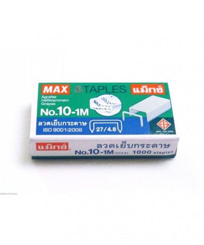 Caja 1000 grapas nº10- MAX - 10-1M