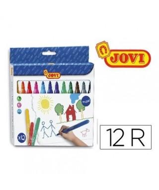 Rotuladores maxi colores surtidos- JOVI - 1712