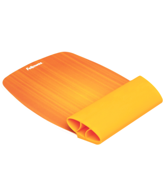 Reposamuñecas flexible naranja- FELLOWES - 9362401