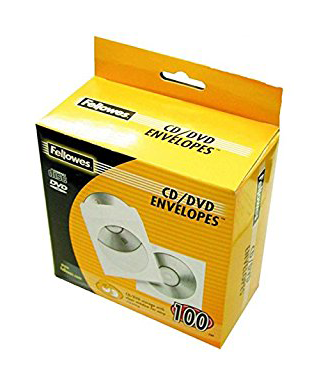 Sobre papel blanco Cds- FELLOWES - 90690