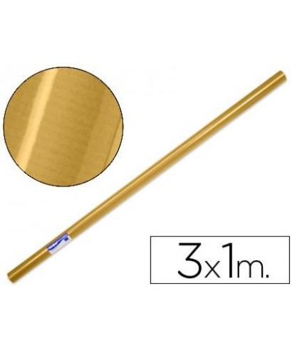 Rollo papel oro 3 metros- DOHE - 11206