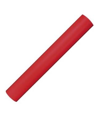 Bobina tela 0,8x3 m color rojo -APLI - 15194