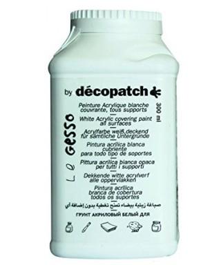 Pintura acrílica blanca- DECOPATCH - GE300AO