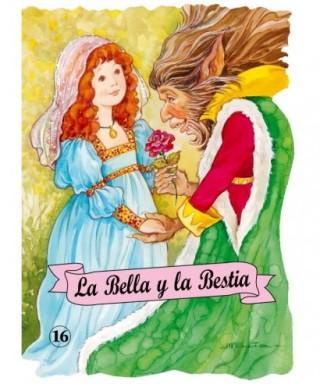 Libro infantil, ``La bella y la bestia - 50502916