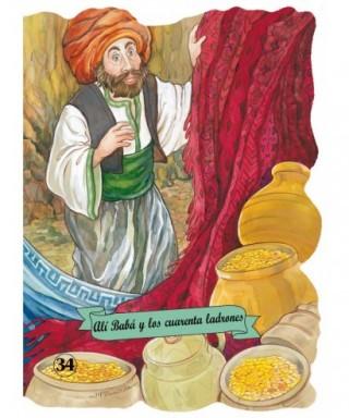 Libro infantil, ``Alí Babá y los 40 ladrones - 50502934