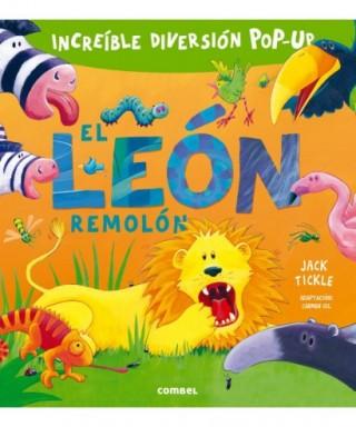 Libro infantil, ``El león remolón - 50627001