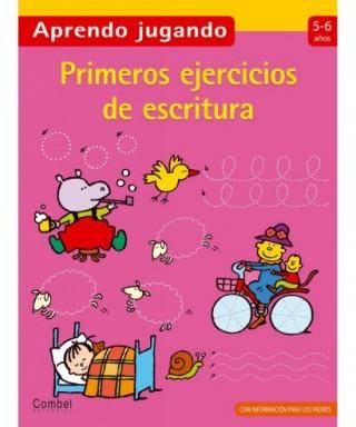Libro infantil,`` Primeros ejercicios de escritura de 5 a 6 años -