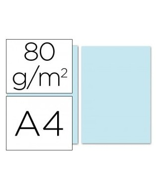 Papel A-4 azul 80 grs- ADVEO - 67944
