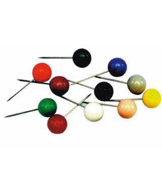 Agujas señalizadoras colores surtidos 100 uds- APLI - PN100B