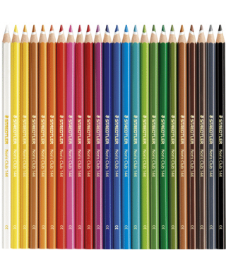 Caja de 24 Lápices de colores noris club triangular - STAEDTLER