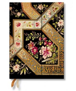 Agenda Personal Midi Filigrana Floral Ébano – PAPERBLANKS - DS3715-6