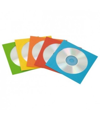 Sobre papel colores surtidos Cds- FELLOWES - 9068901