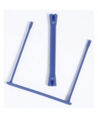 Encuadernadores fastener plásticos azul. FELLOWES - 89801