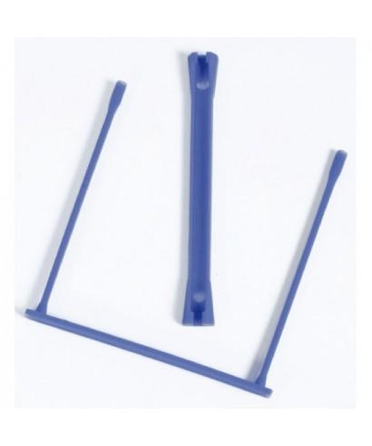 Encuadernadores fastener plásticos azul. FELLOWES 89801
