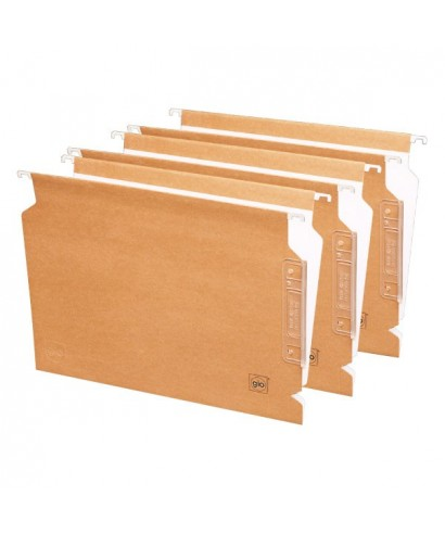Carpeta colgante folio visor lateral