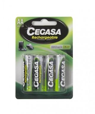 Pilas recargables AA lr-06- CEGASA - 104370