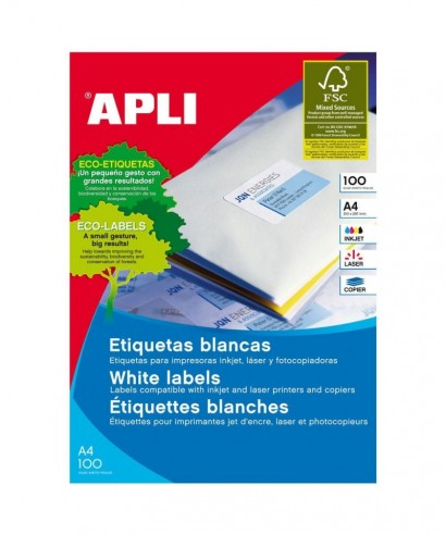 Etiquetas 105x57- APLI - 4724
