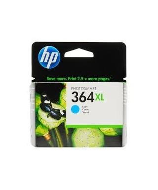Cartucho tinta alta capacidad cyan HP CB323EE Nº364XL. HP - CB323EE