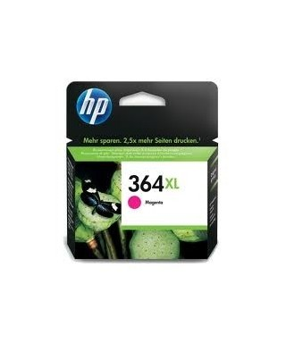 Cartucho tinta alta capacidad magenta HP CB324EE Nº364XL. HP - CB324E