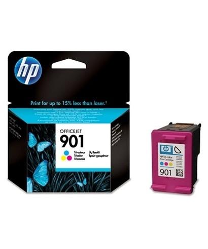 Cartucho tinta tricolor HP CC656A Nº 901- HP - CC656A
