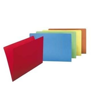 Subcarpeta folio colores surtidos, paquete de 50- GRAFOPLAS - 400040681