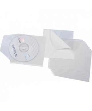 Fundas bolsillo adhesivas CD 10uds- 13700000