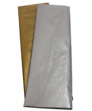 Papel seda oro 50x75 pack10 unidades – GRAFOPLAS - 68015565