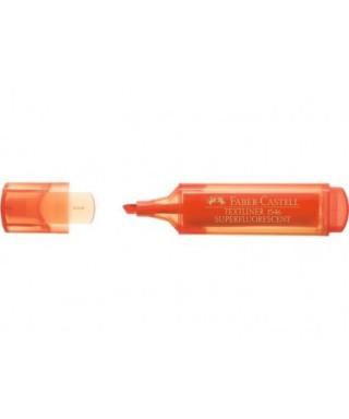 Marcador fluorescente Texliner 46 naranja- FABER - 154615