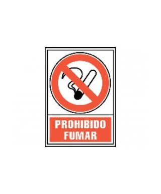 "Cartel ""PROHIBIDO FUMAR""- ARCHIVO 2000 - 6174-02 RJ"