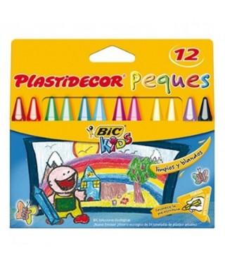 Ceras plastidecor peques colores surtidos- BIC - 875774