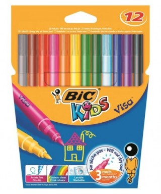 Rotuladores colores surtidos Kids couleur- BIC - 920294