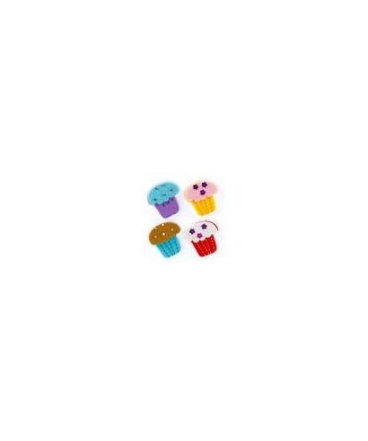 Figura fieltro Cupcake- GRAFOPLAS - 68048603
