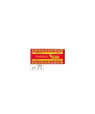 Taco plastilina rojo- JOVI - 7105