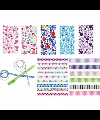 Rollo adhesivo círculos rosas- GRAFOPLAS - 68070105