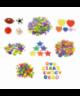 Figuras goma eva forma flores- GRAFOPLAS - 68001700