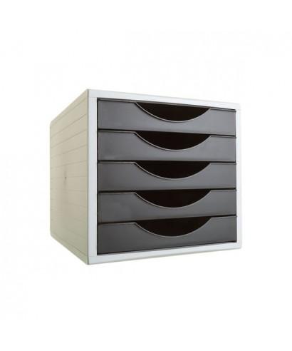 Módulo 5 cajones archivotec negro- ARCHIVO 2000 - 4005 NE