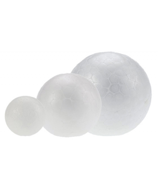 Figuras poliespan bolas diametro 10cm pack 3 unidades – GRAFOPLAS -