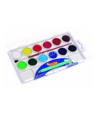 Acuarela colores surtidos- JOVI - 800/12