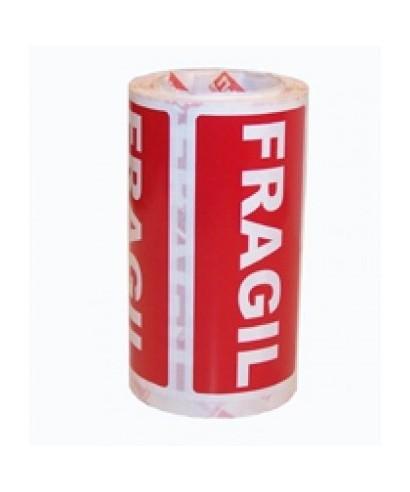 """Rollo etiquetas adhesivas(296) """" Frágil""""- GRAFOPLAS - 00194003"""
