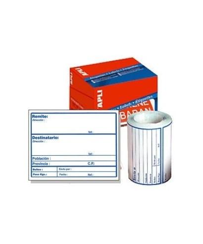 Rollo etiquetas adhesivas envió- APLI - 00324 / 00194101
