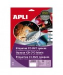 Etiquetas CD 117mm- APLI - 10601