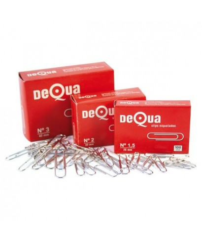 Clips nº 1,5 26mm- DEQUA - 13681